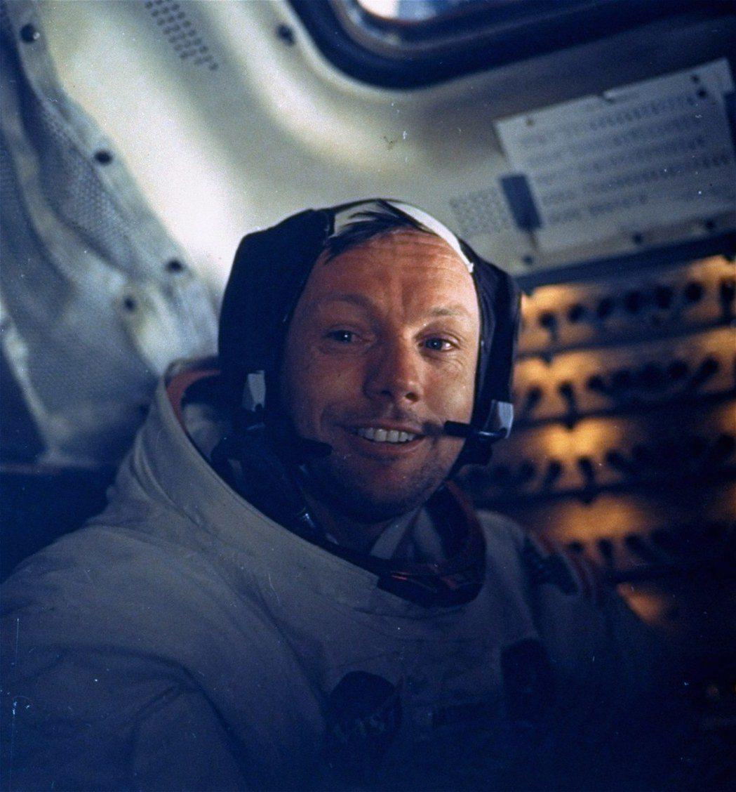 人類首次登月任務,阿波羅11號的指揮官阿姆斯壯。 美聯社資料照片