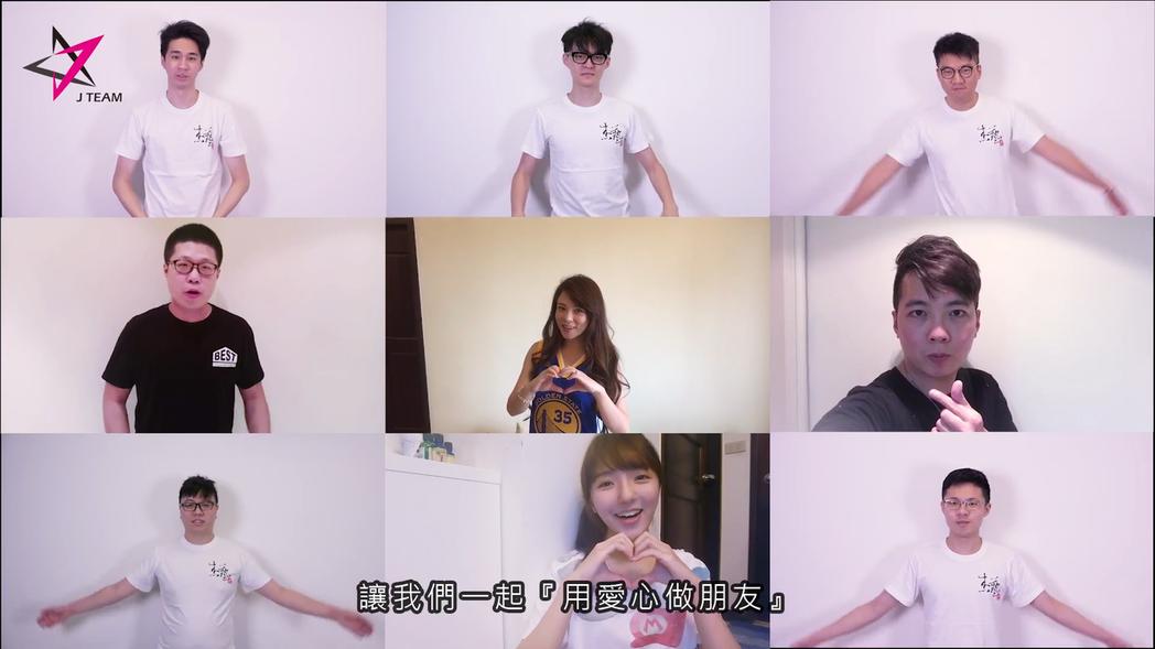 左上至右下: Refra1n、FoFo、Jay、GY祥、天菜娘娘、Sobad、B...