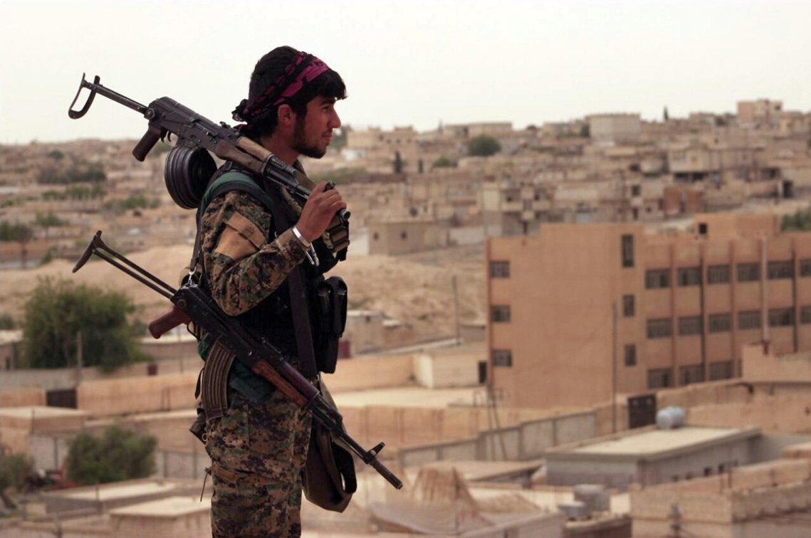 「這場戰役將會極其艱難,因為『達伊沙』必將誓死防衛他們所謂的『首都』。」 圖/美...