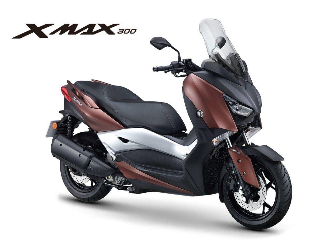 XMAX 300。圖/YAMAHA提供