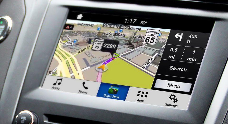 導航系統。圖/摘自carscoops.com