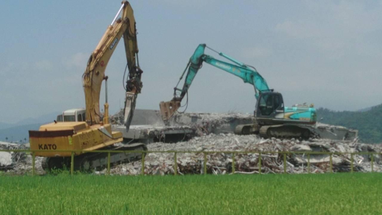 宜蘭違規農舍拆除