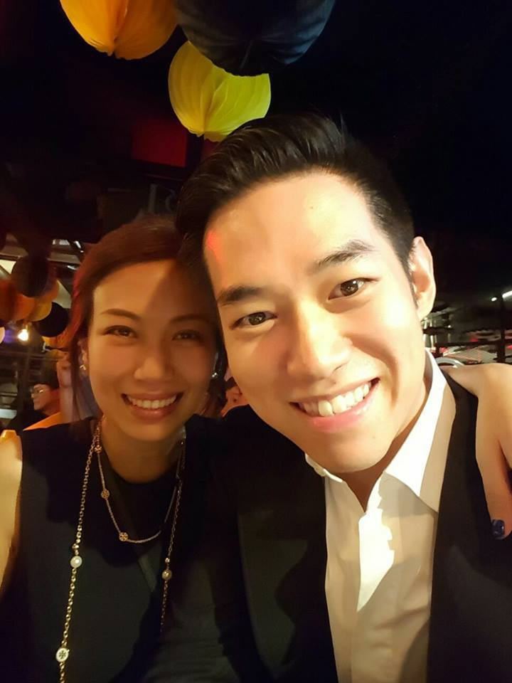 蕭敬騰經紀人Summer(左)。圖/摘自臉書