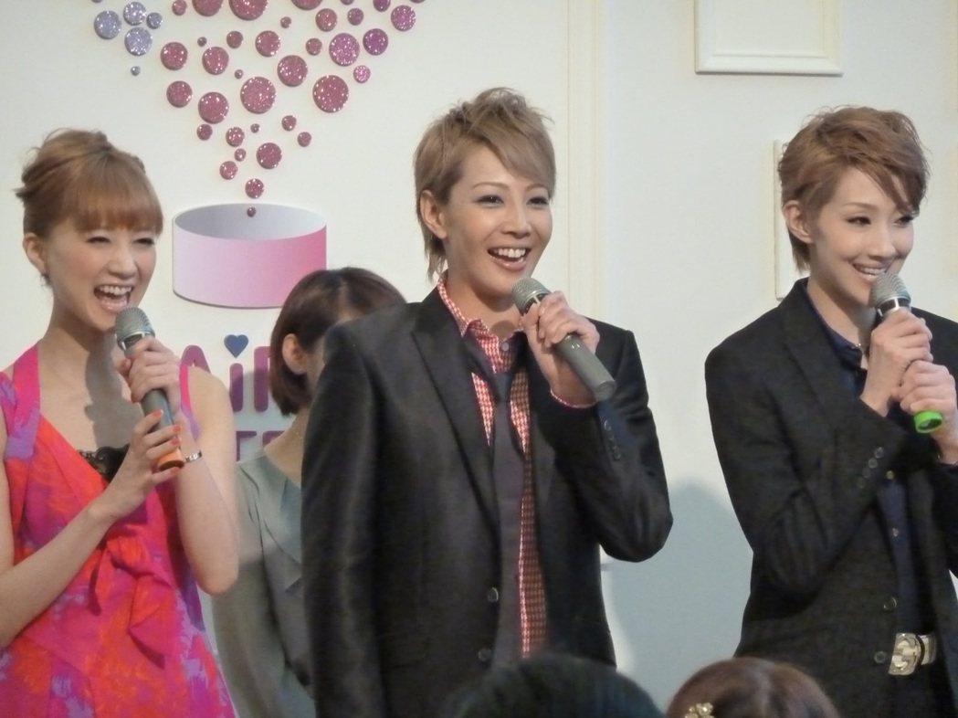 紅悠智露(右)首次來台時還不是首席男角。圖/摘自blogger