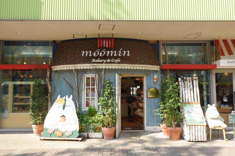 日本Moomin Café東京巨蛋LaQua店。圖/Moomin Café