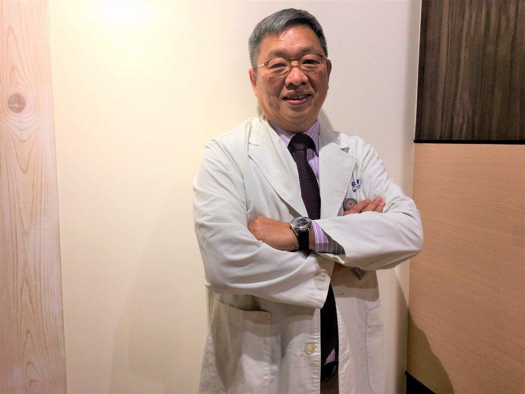 高醫附醫過敏免疫風濕內科主任蔡文展。 記者鄧桂芬/攝影