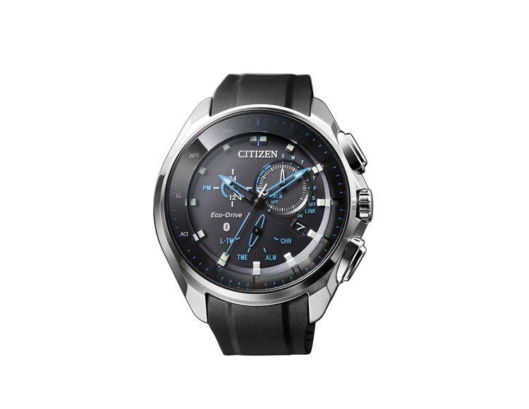 星辰BZ1020-14L光動能藍牙腕表,約25,000元。圖/Citizen提供