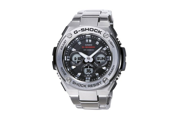 G-Shock G-Steel GST-S310系列腕表,約9,500元。圖/C...
