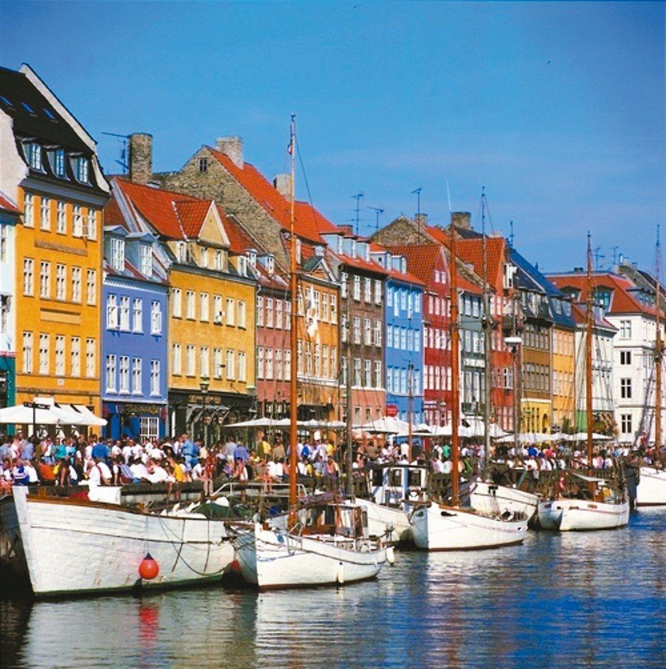 北歐四國行程安排搭乘鐵道達人蘇昭旭推薦的經典路線,圖為丹麥哥本哈根。 雄獅旅遊