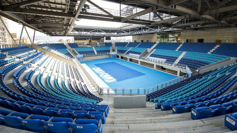 圖台北市網球中心,是世大運60座場館之一。 圖/世大運執委會提供