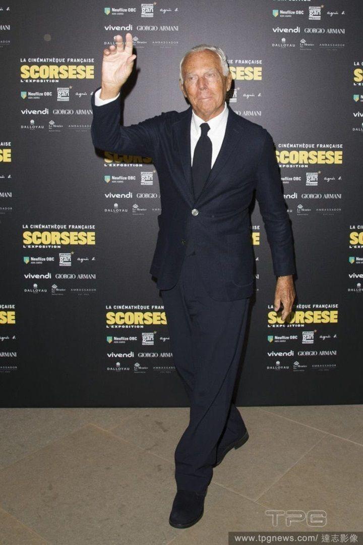 Giorgio Armani。圖/達志影像