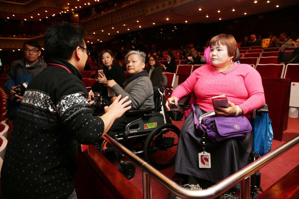 國家戲劇院增設無障礙設施,希望朝文化平權的目標前進。 圖/聯合報系資料照