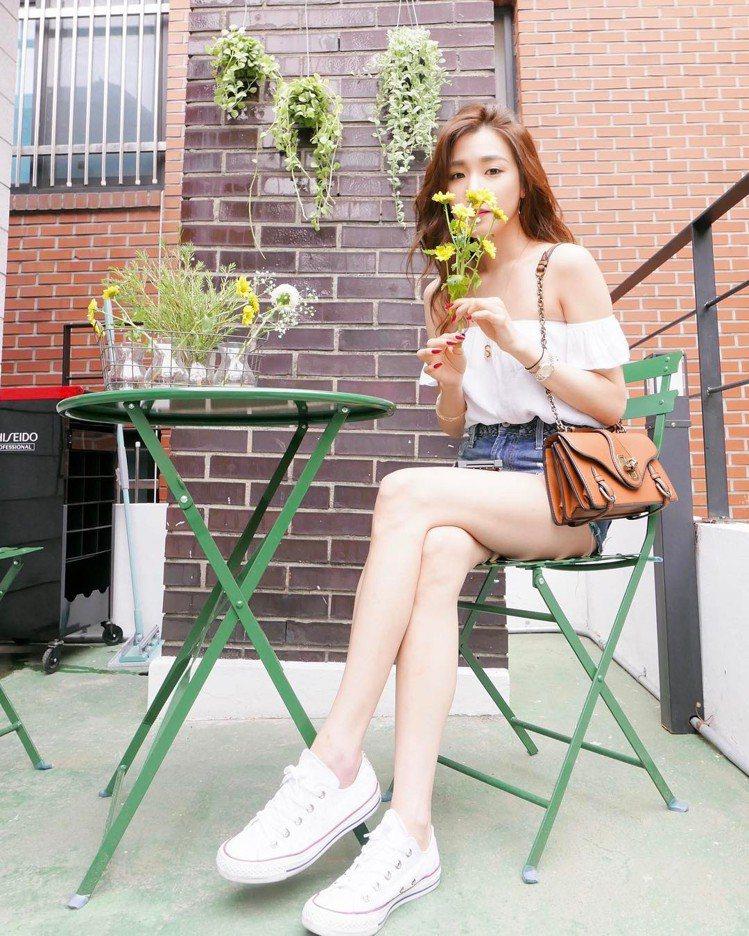 少女時代成員Tiffany。圖/擷自instagram