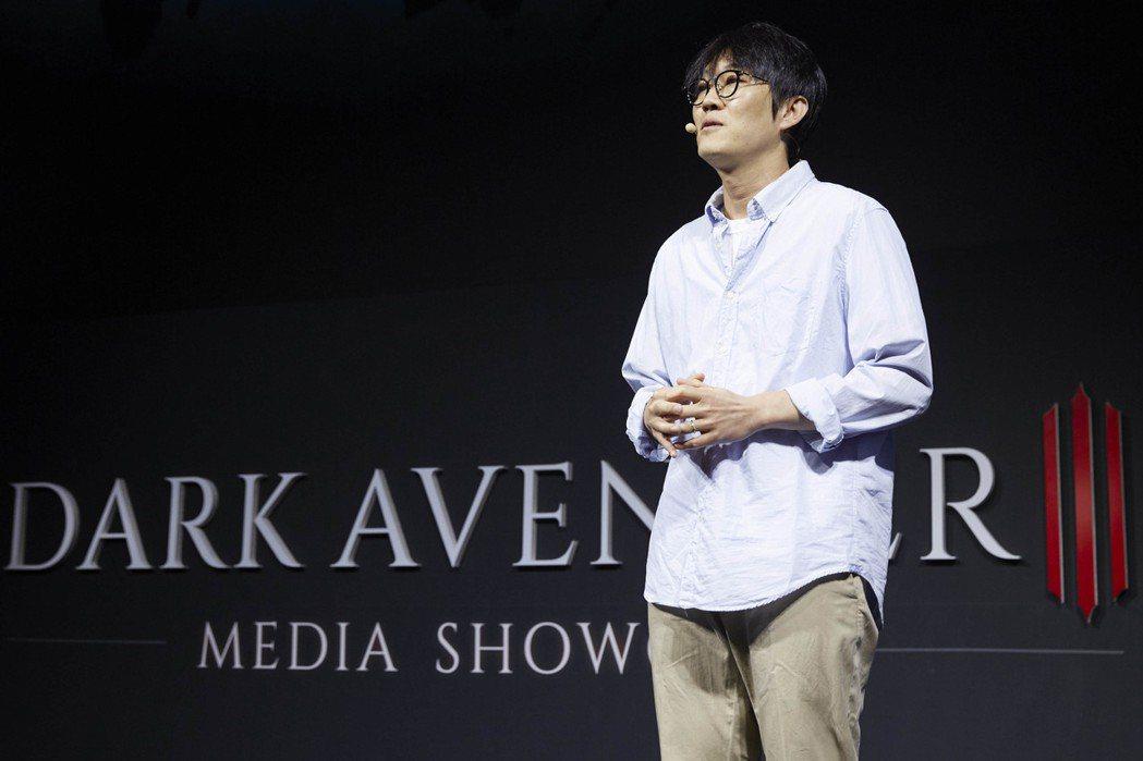 NEXON副社長Lee Jung-hun蒞臨現場。