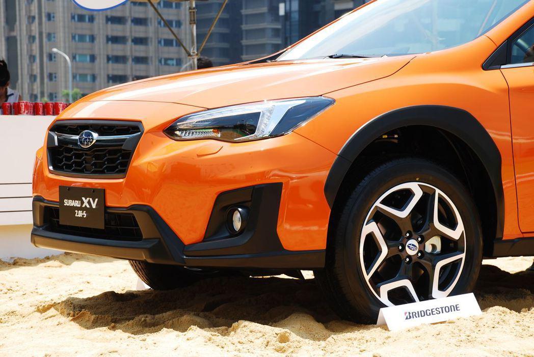 全新Subaru XV。記者林昱丞/攝影