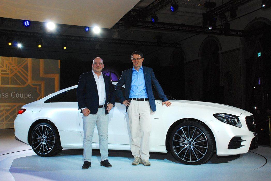 新Mercedes-Benz E-Class Coupe,台灣賓士總裁Eckar...