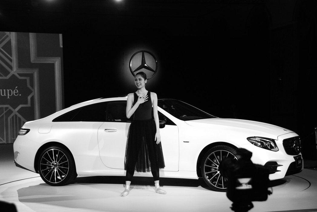 新Mercedes-Benz E-Class Coupe。記者林昱丞/攝影