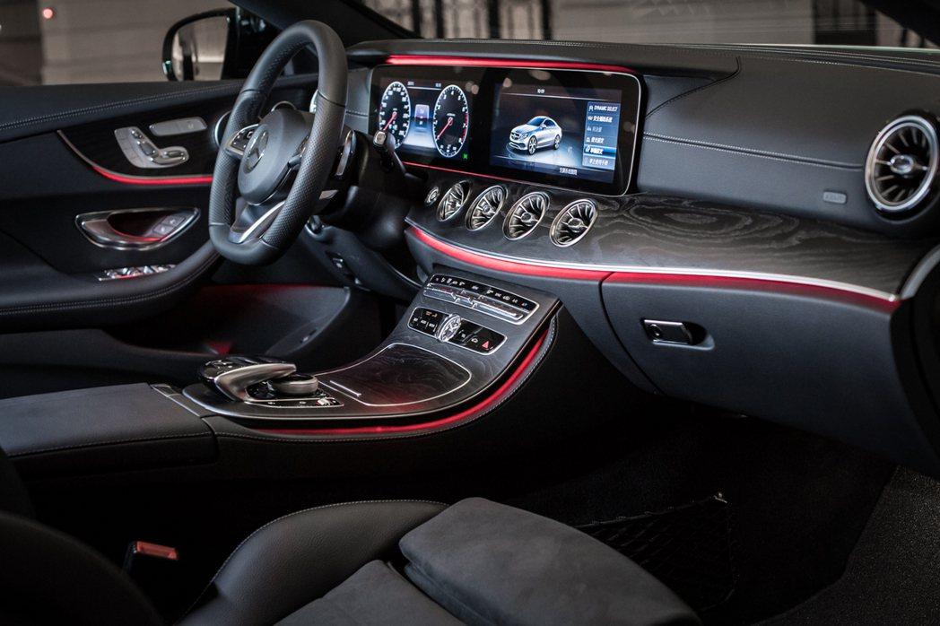 新Mercedes-Benz E-Class Coupe。圖/台灣賓士提供