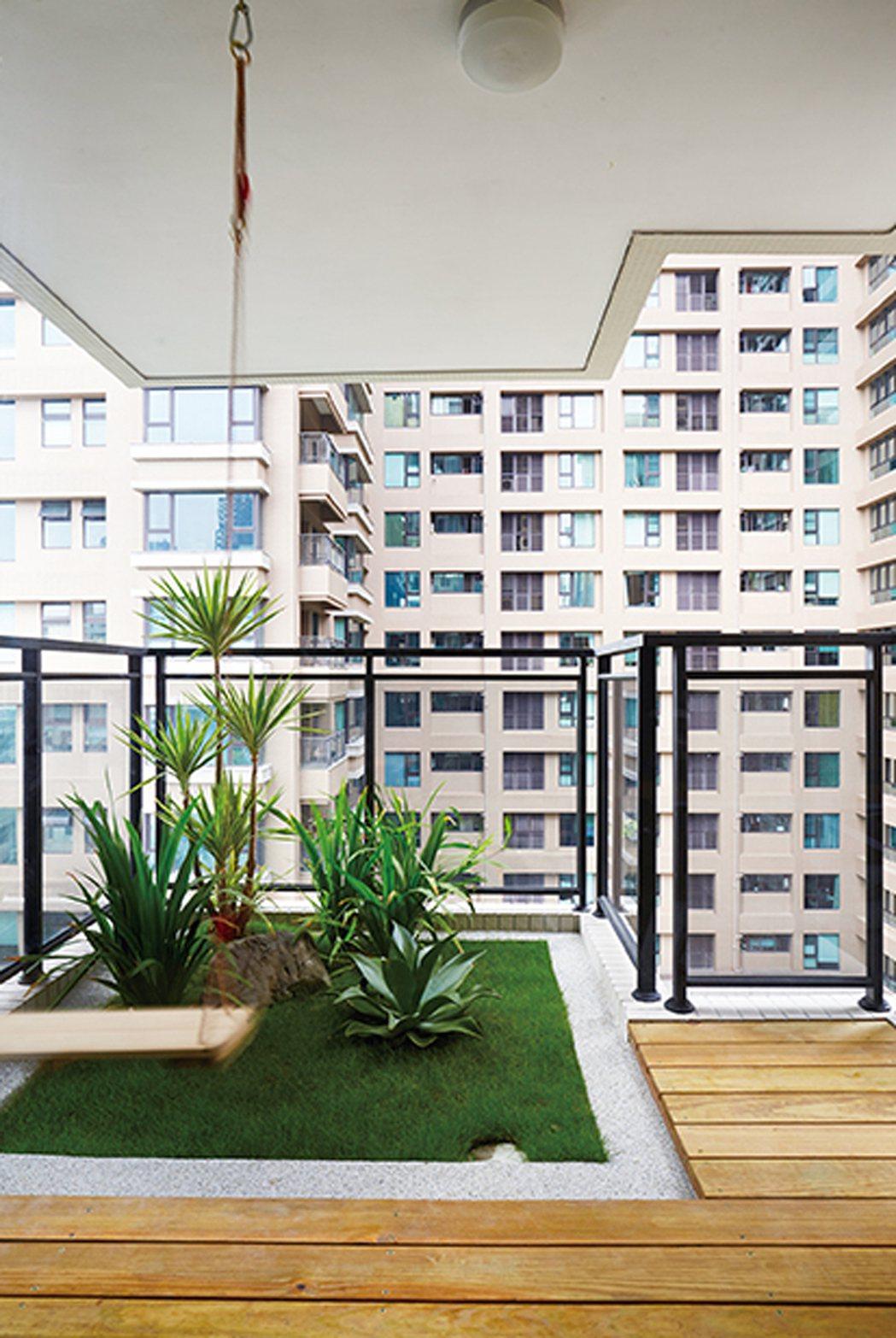 在家即享滿室綠意。 圖片提供/光洲建設