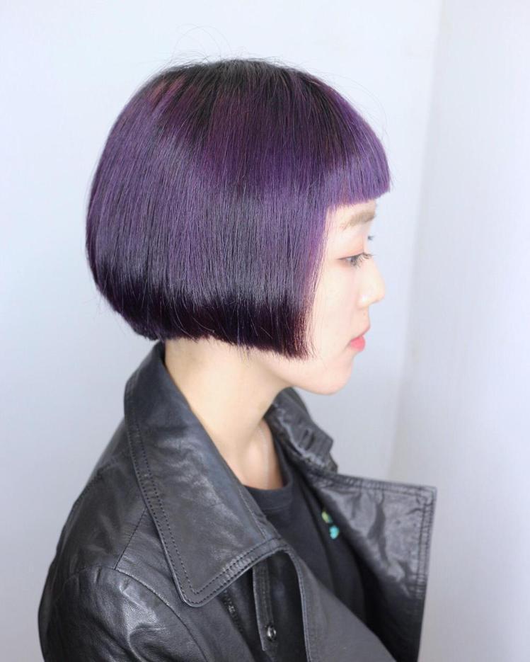 髮型創作/in%hair cafe - 周彥凱。圖/HairMap美髮地圖提供