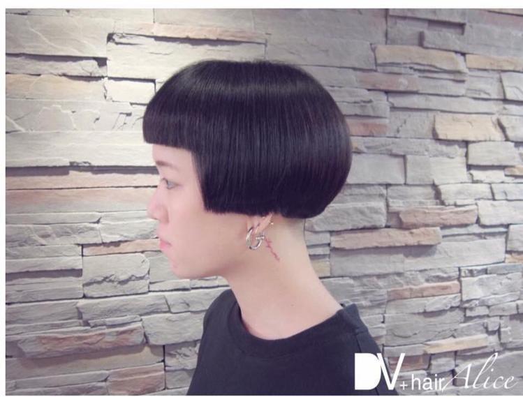 髮型創作/DV+hair - 愛麗斯。圖/HairMap美髮地圖提供
