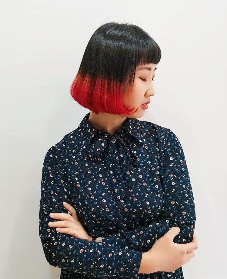 髮型創作/ 諾亞藝術造型 - 羅羅黎。圖/HairMap美髮地圖提供