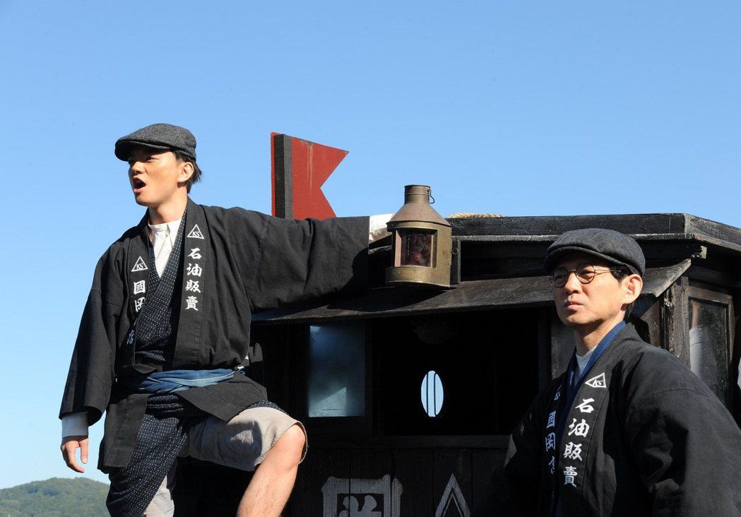 「名叫海賊的男人」獲得多項日本電影金像獎優秀獎肯定。圖/台北電影節提供