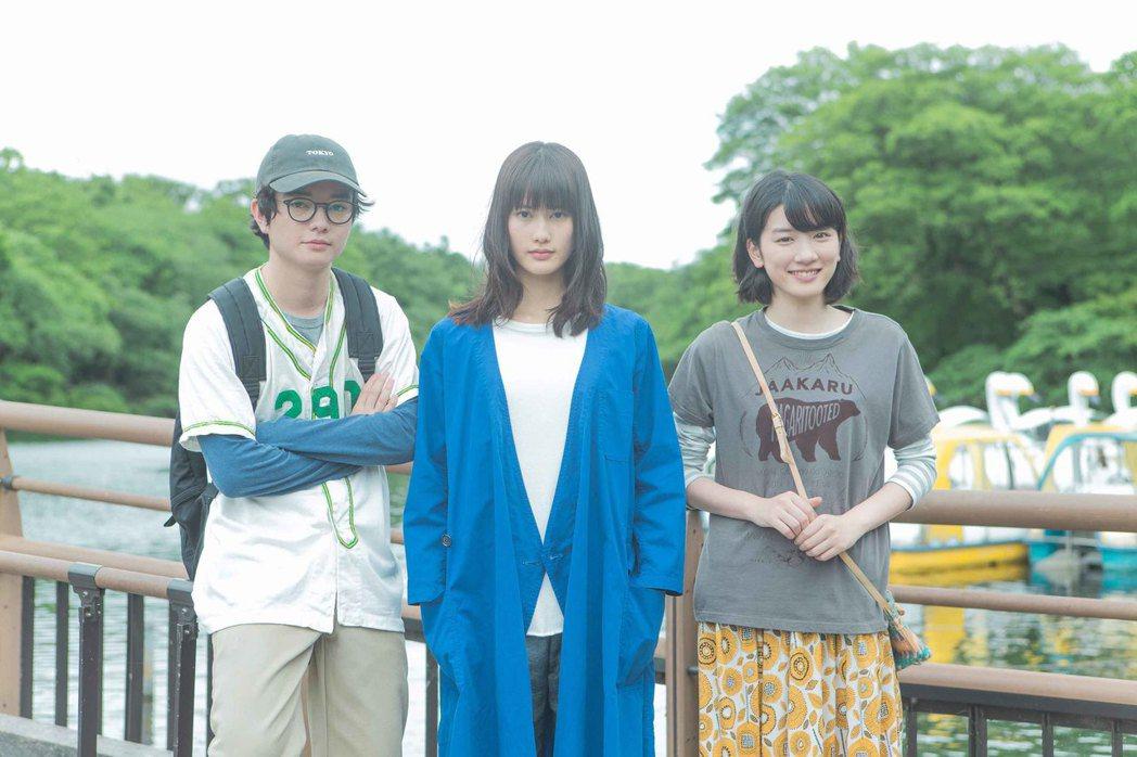 號稱日本獨立音樂最大規模合作的音樂電影「公園小情歌」,由橋本愛與染谷將太主演。圖