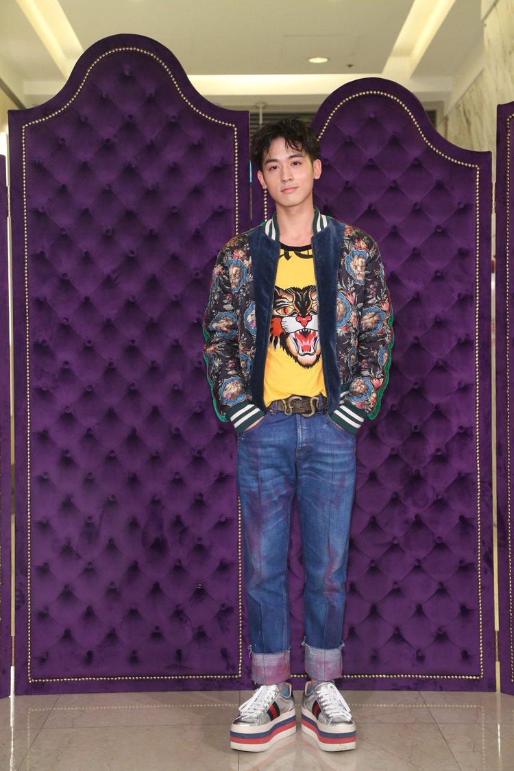 吳思賢出席Gucci全台第一家全新概念店開幕酒會。圖/Gucci提供