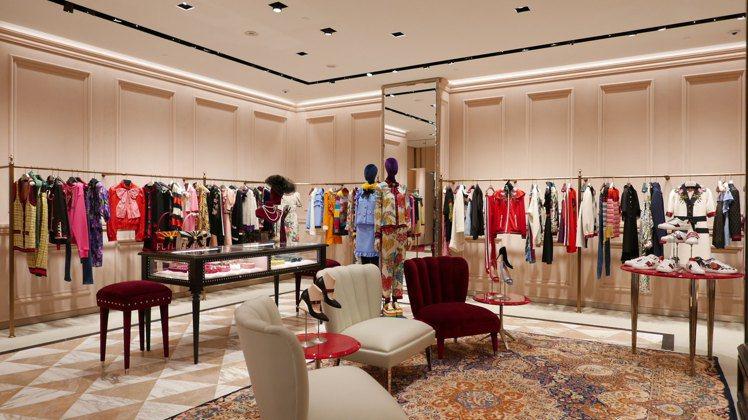 Gucci全台第一家全新概念店於微風廣場盛大開幕。圖/Gucci提供