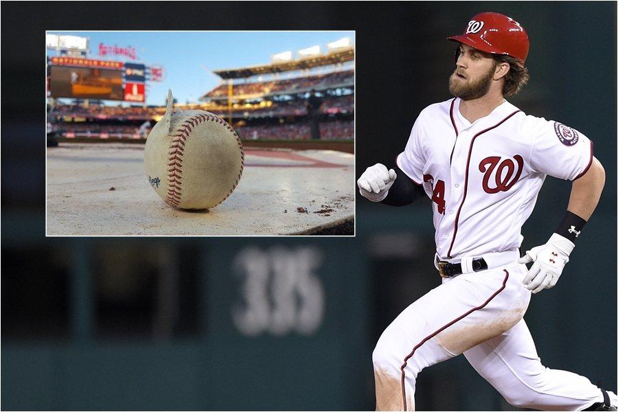 哈波打擊的怪力真的把球打爆了! 美聯社、國民官方推特