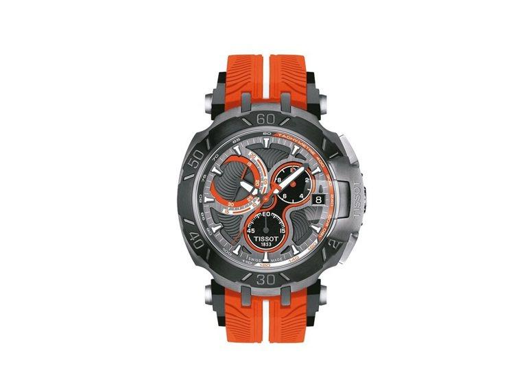 天梭競速系列Jorge Lorenzo限量版腕表,僅有2017只, 約27,40...