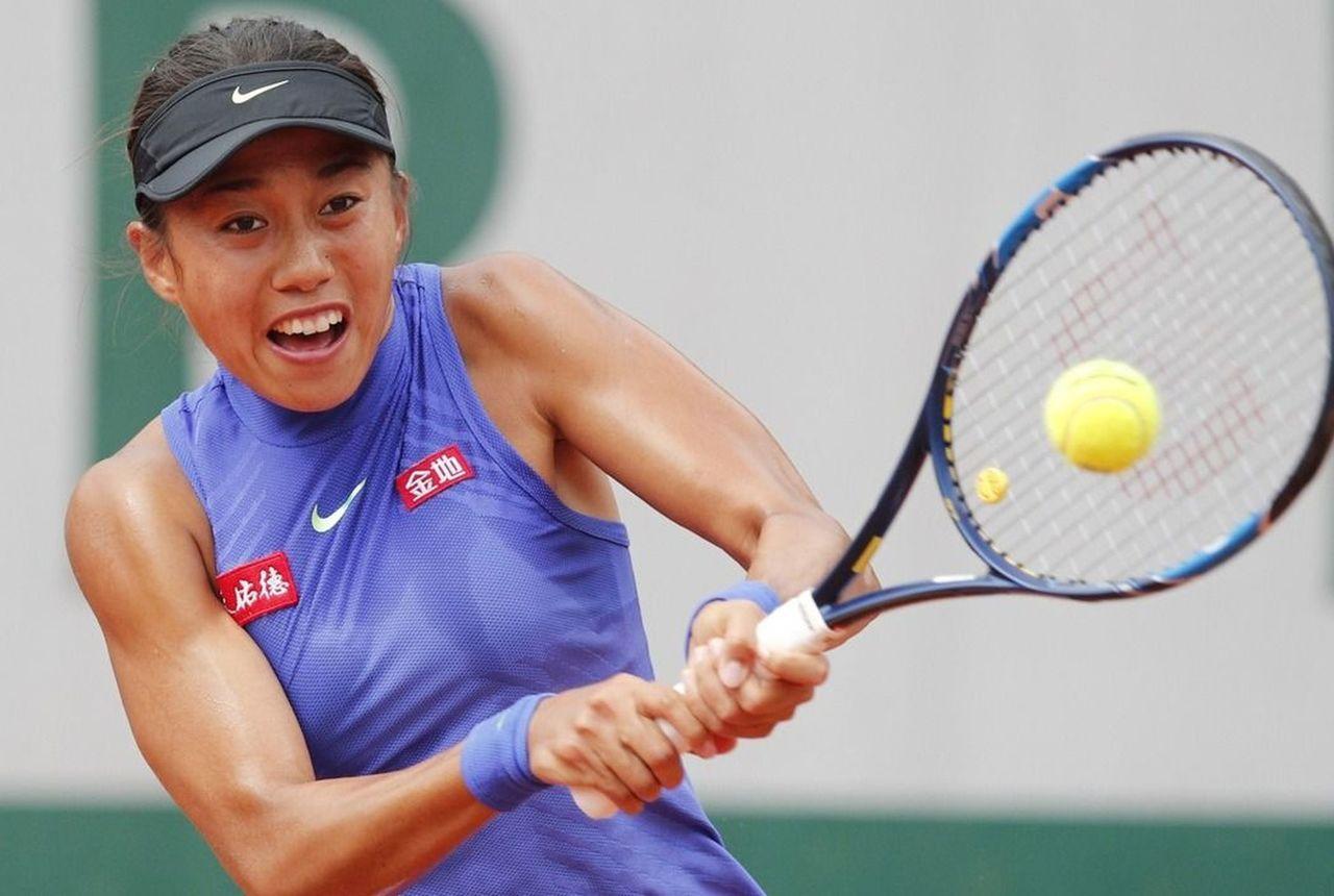 中國女子網球好手張帥在微博上指控聯合航空地勤人員刁難。美聯社