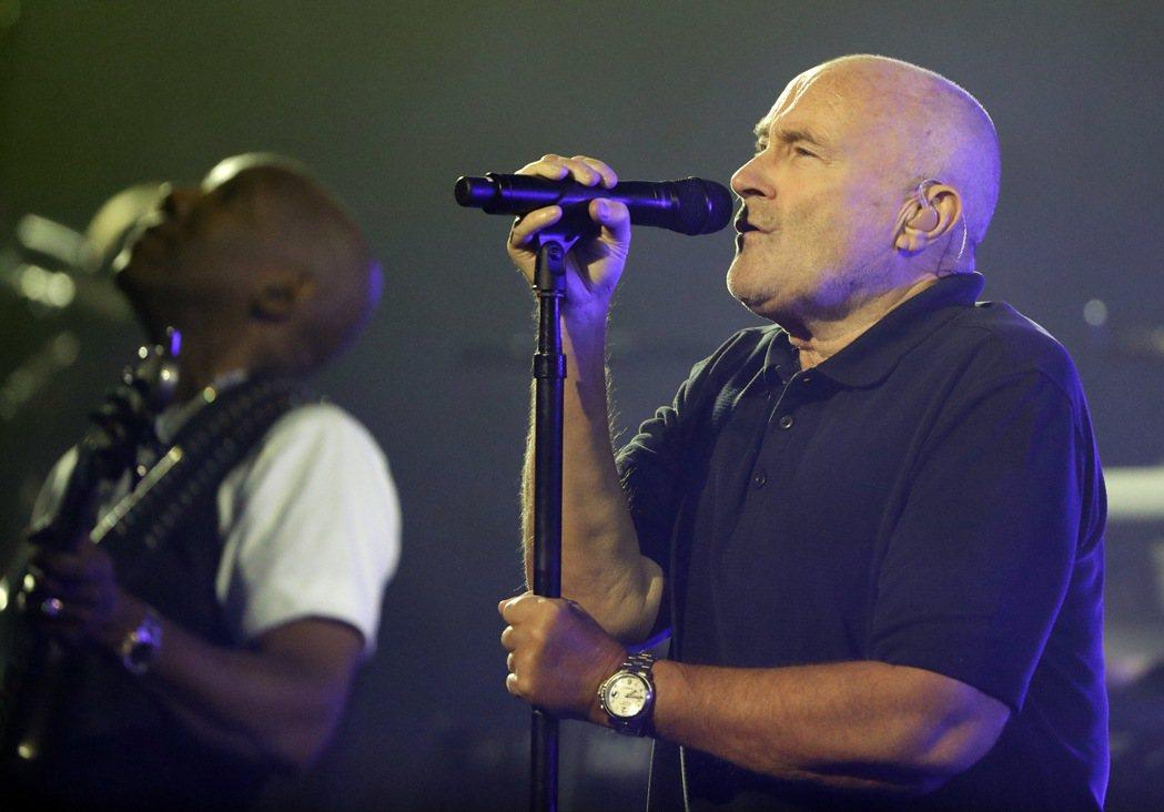 菲爾柯林斯(Phil Collins)。 美聯社