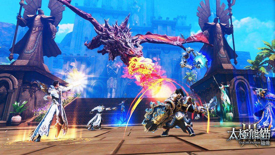 世界BOSS「紫電雷龍」絕對是玩家想要獵捕的夢幻坐騎。