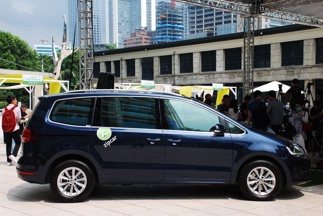 Zipcar有許多車種可供選擇,小車至客貨兩用車都有,滿足不同需求的消費者。記者林昱丞/攝影