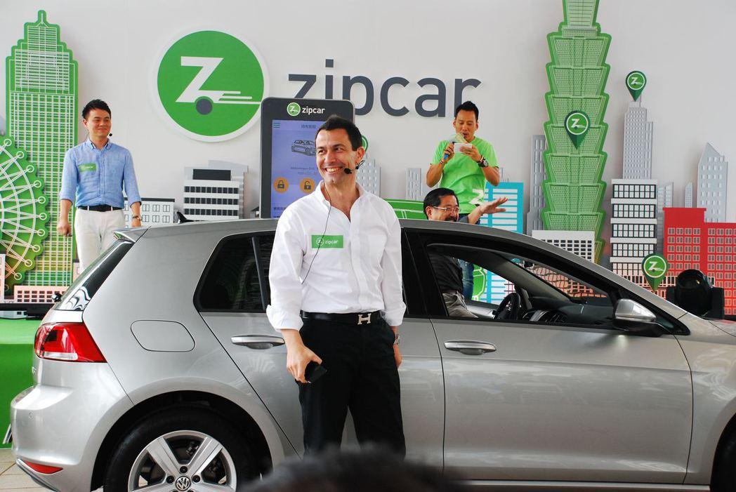 Zipcar全球營運暨行動業務事業群總裁Massimo Marsili。記者林昱丞/攝影