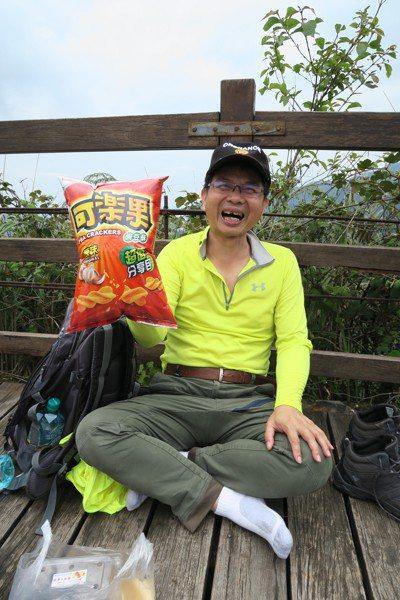 陳清龍罹癌後更享受人生,經常與親友往大自然跑。圖/陳清龍提供