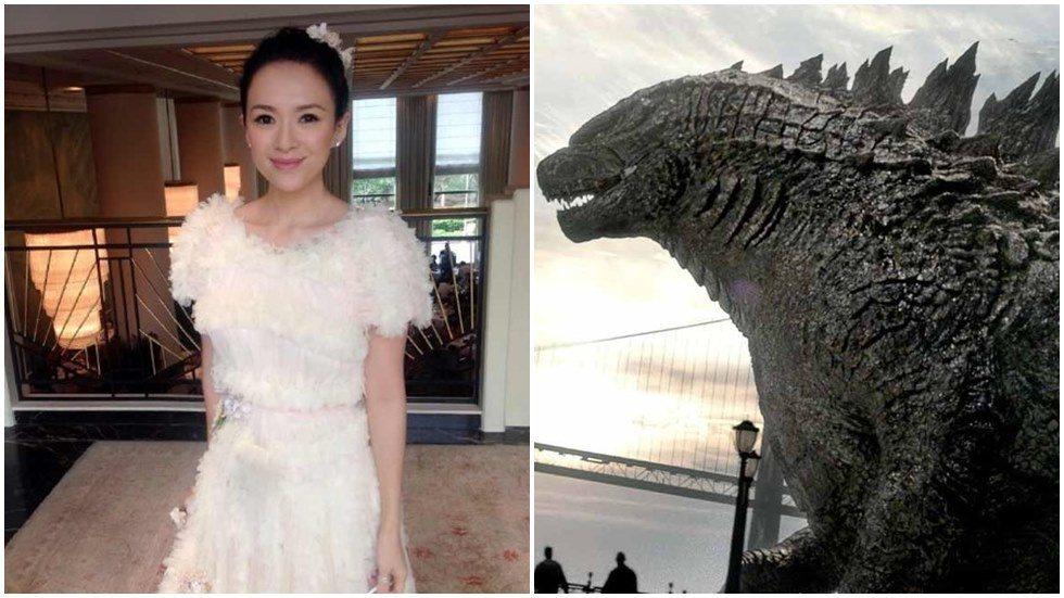 章子怡加入「哥吉拉2」主演陣容。圖/摘自微博、華納兄弟影業提供
