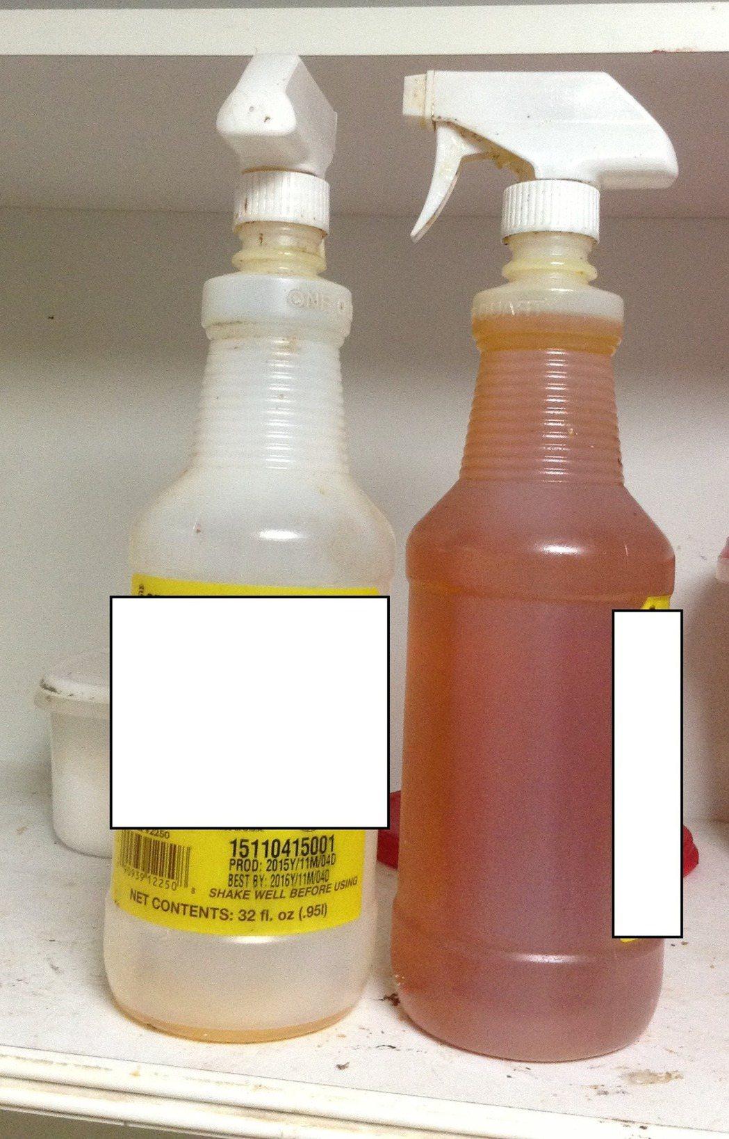 逾期的裹糖分離液。 圖/食藥署提供