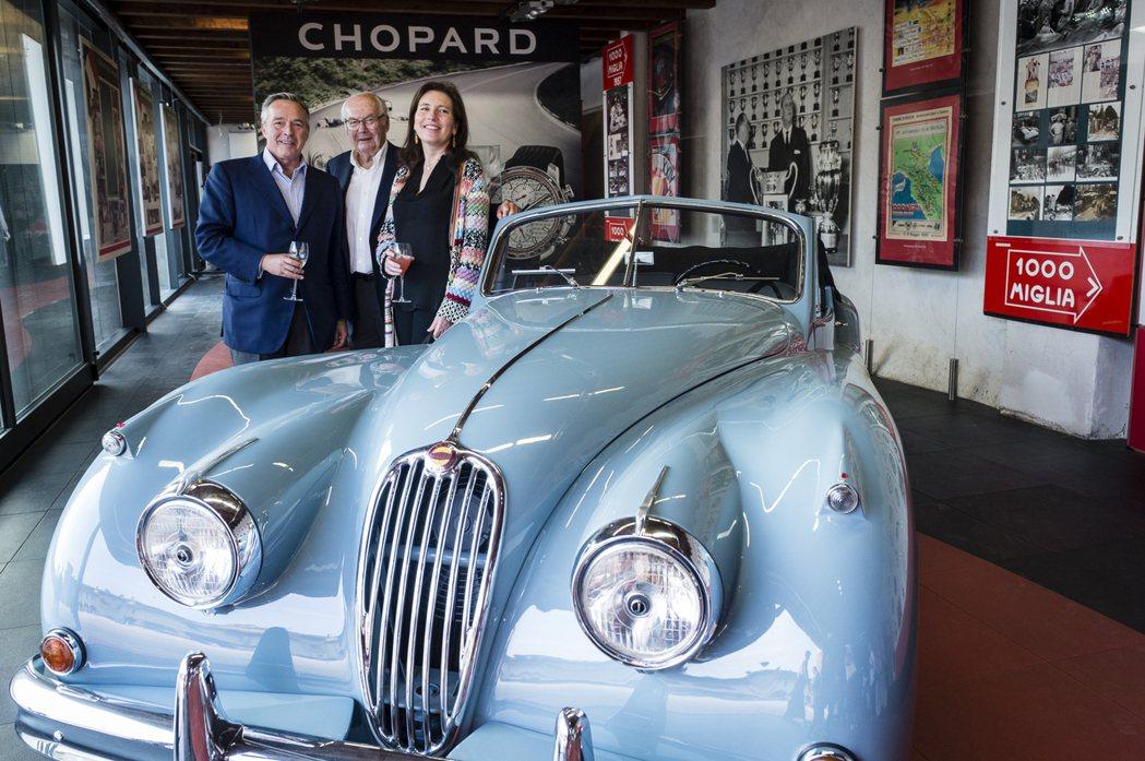 自1988年起,蕭邦便與Mille Miglia賽事締結了長久以來的密切合作關係...