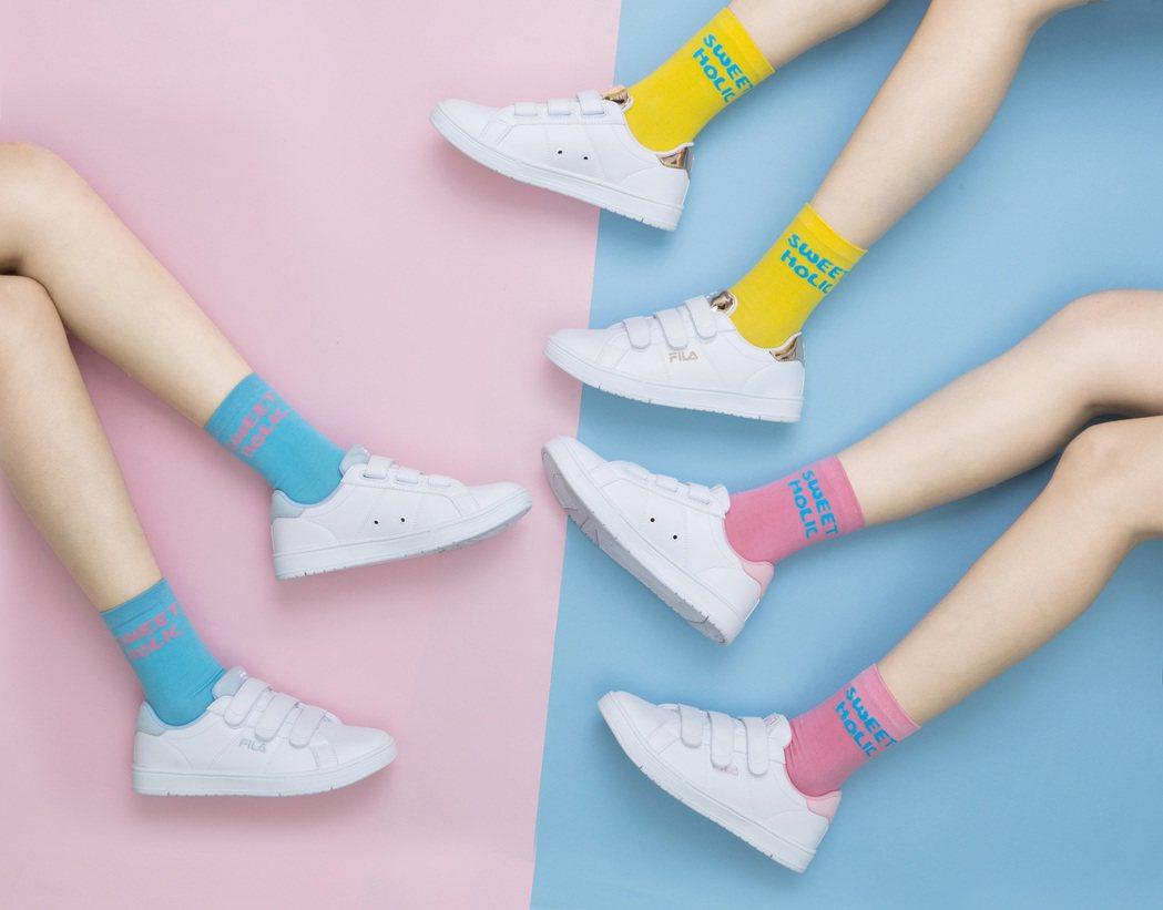 FILA推出COURT DELUXE甜品鞋二代。圖/FILA提供