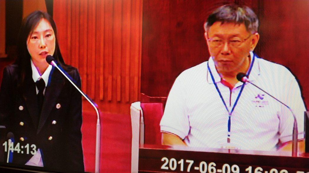 北農董事長、總經理人事案未定,柯文哲在總質詢時說,6月20日前底定。記者楊正海/...