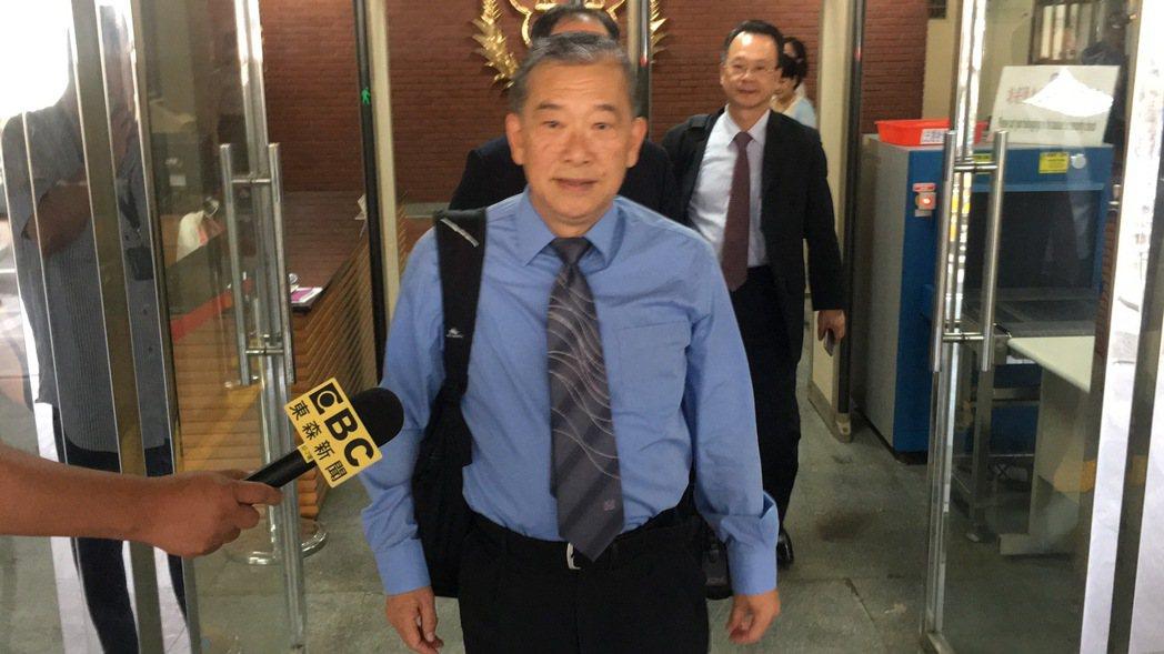 浩鼎公司董事長張念慈今天出庭。記者李承穎/攝影