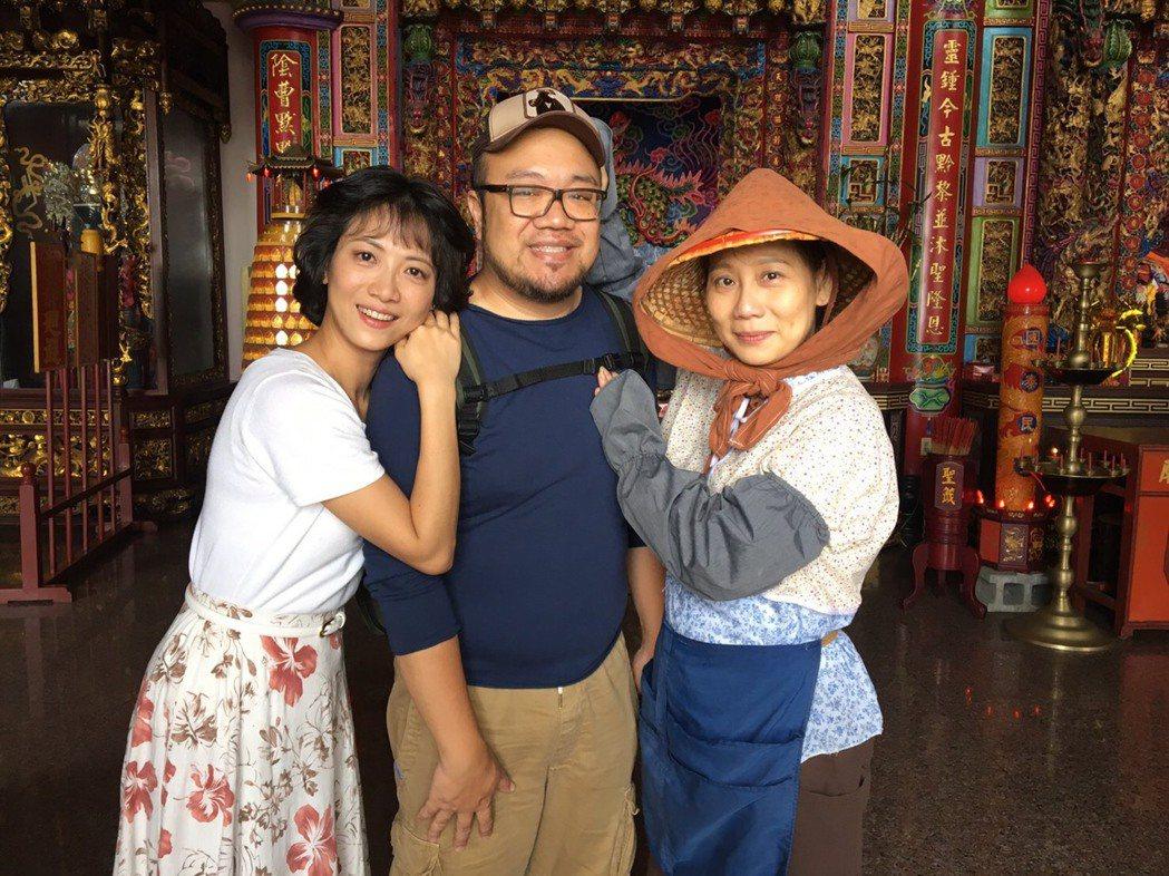 徐麗雯、導演葉天倫、郎祖筠演出「外鄉女」。圖/民視提供