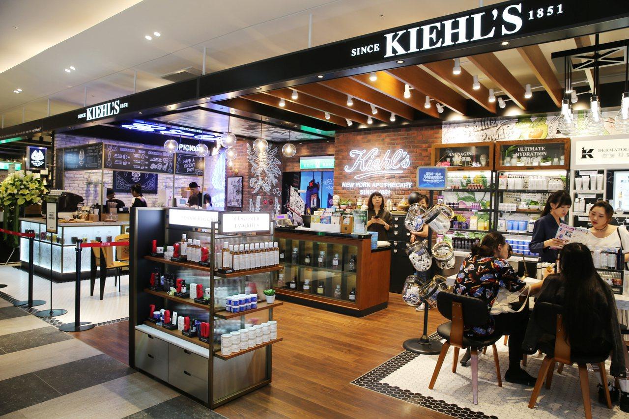 全球首家KIEHL'S COFFEE HOUSE座落新光三越台北信義新天地A11...