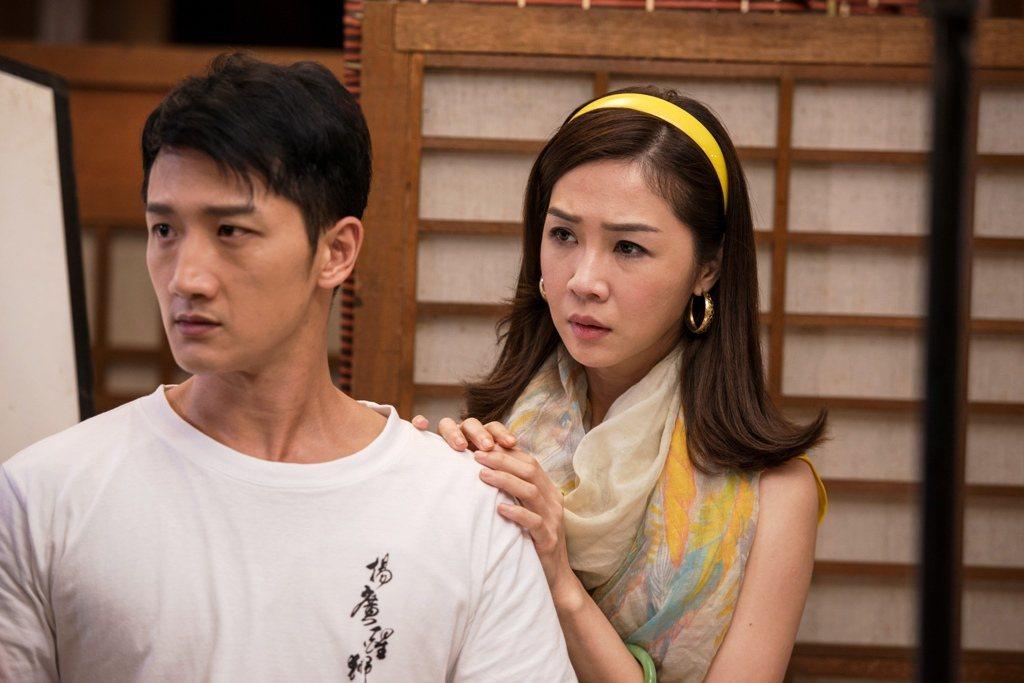 高英軒(左)、謝盈萱演出「起鼓.出獅」飾演從年輕演到老的夫妻。圖/公視提供