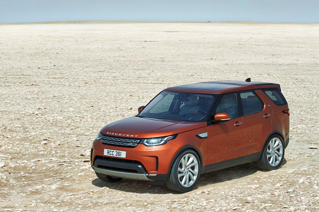Land Rover 最新世代 All-New Discovery 全台單月預售突破50輛佳績。圖/九和汽車提供
