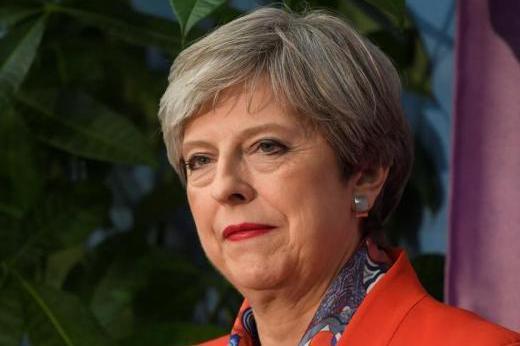 梅伊:保守黨是唯一能夠組閣、在脫歐談判提計畫的政黨