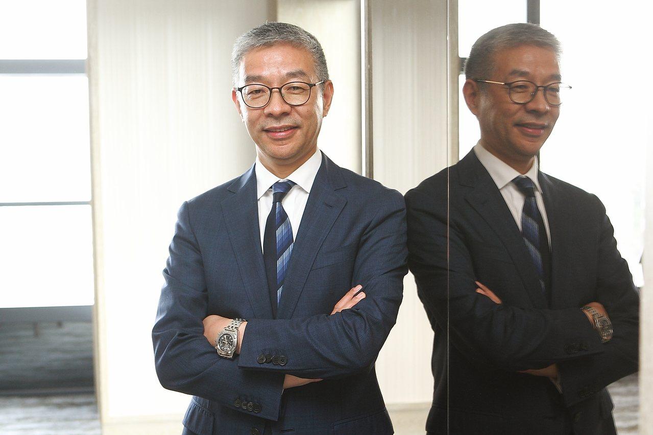 雲頂郵輪集團總裁朱福明。記者陳睿中/攝影